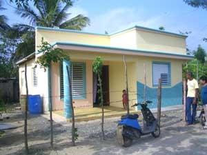 Viviendas Económicas Villa Nueva, ya llevamos  140   casas construidas.